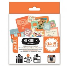 Cartes et étiquettes Made Easy ' We R Memory Keepers' Jet set