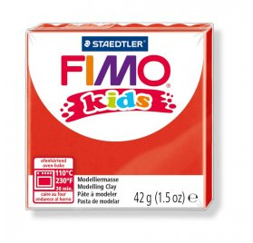 Fimo 'Kids' 42 g - Rouge