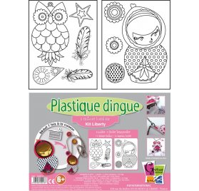 Kit Plastique Dingue 'PW International' 2 Sautoirs Liberty