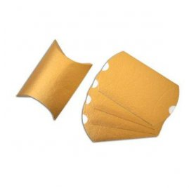 Set de 5 Pillow Box 'Toga' Or 11x19 cm