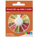Tranches de mini canes 'DTM' Fruits 18g