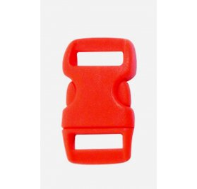 Lot de 10 Clips Créacord 'PW'rouge
