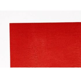 Feuille adhésive 30x30 'Lilly Pot' Colle' Skivertex Rouge