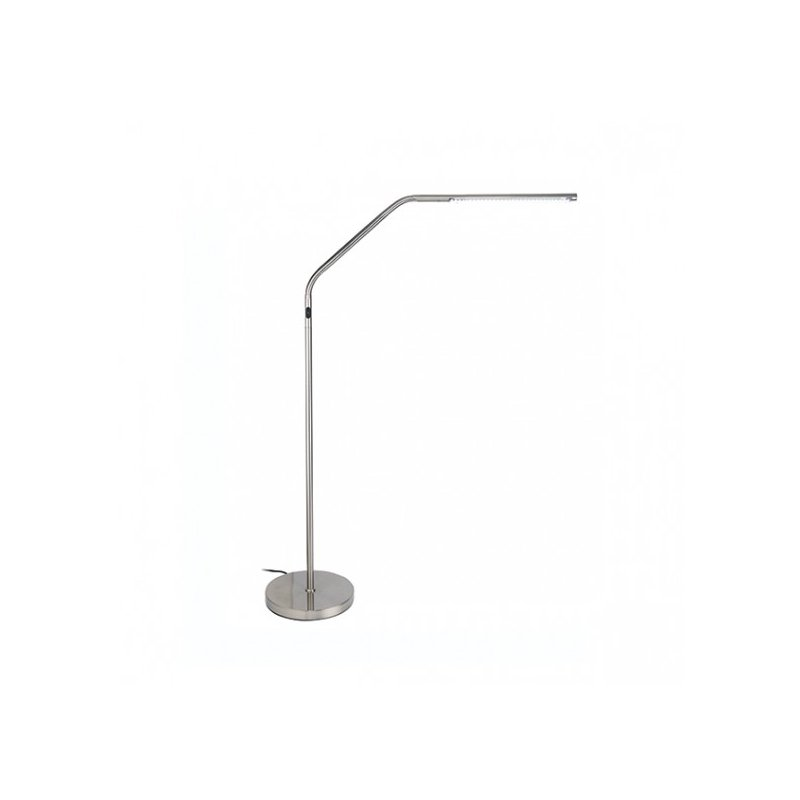 lampe sur pied slimline s led 39 daylight 39 chrome la fourmi creative. Black Bedroom Furniture Sets. Home Design Ideas