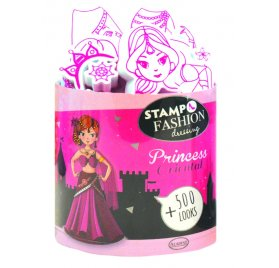 Kit Stampo Fashion Dressing 'Aladine' Princess Oriental