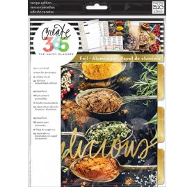 Pack d'extension 'Me & My Big Ideas - The Happy Planner' Pages Recettes