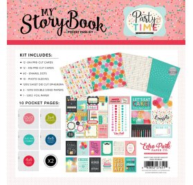 Kit Project Life 30x30 'Echo Park Paper - Party Time' My Storybook