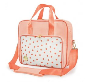 Sac d'épaule 'We R Memory Keepers' Pois Rose