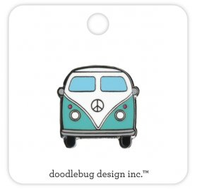 Pin's 'Doodlebug - Fun in the Sun' Van
