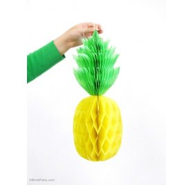 Tuto : Réaliser des ananas en papier, par Birds Party