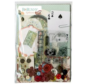 Kit embellissements 'BoBunny - Bella Rosa' Ephemera