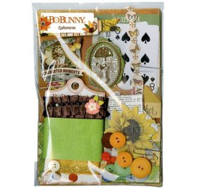 Kit embellissements 'BoBunny - Farmers Market' Ephemera