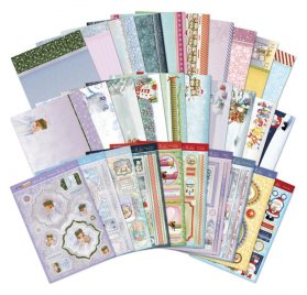 Kit Carte Découpage A4 'Hunkydory Crafts - Snowy Season'