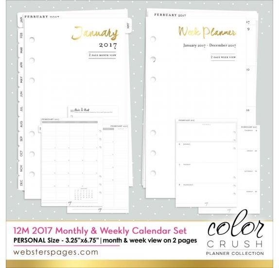 Pages Pour Organiseur Personal Planner Webster S Pages Color
