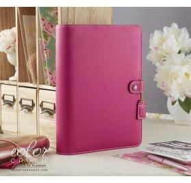 Organiseur Complet A5 Personal Planner 'Webster's Pages - Color Crush' Fuchisia