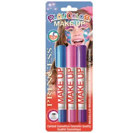 Lot de 3 sticks de maquillage 'Playcolor' Make Up Princesse