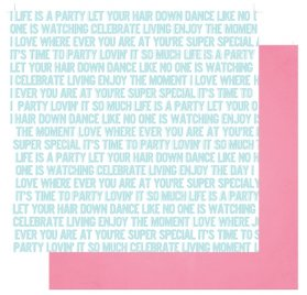 Papier double 30x30 'Fancy Pants - Joy Parade' Life is a Party