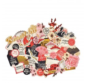 Assortiment de die-cuts 'Kaisercraft - Island Escape' Qté 48