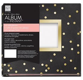 Kit Album 20x20 'Me & My Big Ideas - Album in an Instant' Gold Leaf