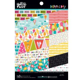 Assortiment 15.2 x 20.3cm 'Bella Blvd - Popsicles and Pandas' Paper Pad