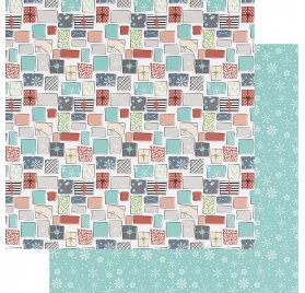 Papier double 30x30 'Fancy Pants - Holiday Hustle' All Wrapped Up