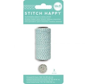 Fil pour couture 'We R Memory Keepers - Stitch Happy' Menthe