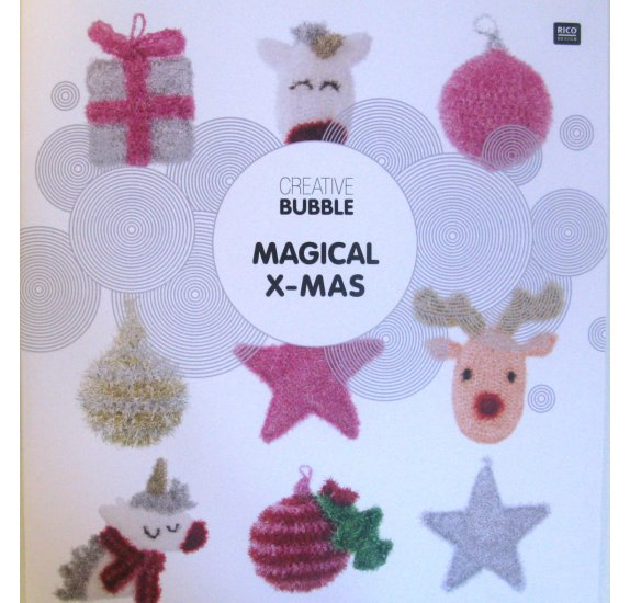 Livre 'Rico Design - Creative Bubble' Magical X-MAS