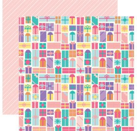 Papier double 30x30 'Echo Park Paper - Happy Birthday' Birthday Gifts