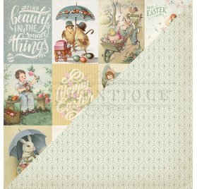 Papier double 30x30 'Authentique - Jubilee' Jubilee Six