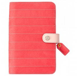Organiseur Personal Planner 'Webster's Page - Color Crush' Rayé Rose (vide)