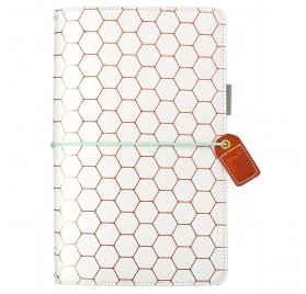 Carnet de voyage 'Webster's Pages - Color Crush' Travelers Notebook Hexagone Cuivre