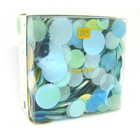20g de Confetti 'Rico Design - Let's Party' Bleu/Vert Mix