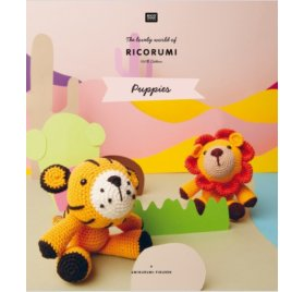 Livre 'Rico Design' Ricorumi Puppies