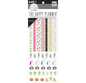 448 autocollants washi 'Me & My Big Ideas - The Happy Planner' Super Fun