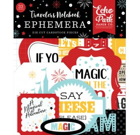 33 Die-cuts 'Echo Park Paper - Wish Upon A Star'