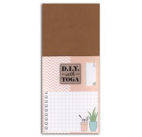 Bloc notes 8x18.5 cm 'Toga - DIY' Enjoy The Little Things To do list