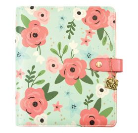 Organiseur vide A5 'Simple Stories - Carpe Diem Planner' Mint Blossom