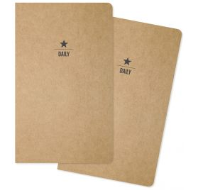 Lot de 2 carnets 'Simple Stories - Carpe Diem' Quotidien