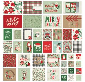 48 cartes 'Simple Stories -Merry & Bright'