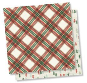 Papier double 30x30 'Simple Stories - Merry & Bright' Simply Christmas
