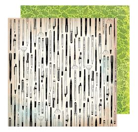 Papier double 30x30 'Vicki Boutin - Field Notes' Field Notes