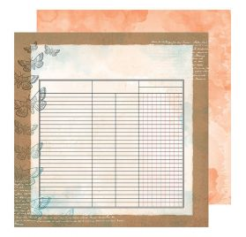 Papier double 30x30 'Vicki Boutin - Field Notes' Collect and Document