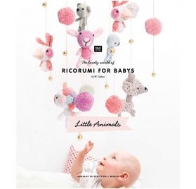 Livre 'Rico Design' Ricorumi for babys Little Animals