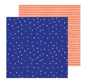 Papier double 30x30 'Crate Paper - Hooray' Sprinkles
