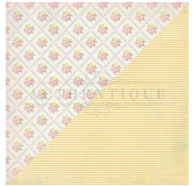Papier double 30x30 'Authentique - Swaddle Girl' Three