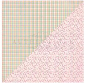 Papier double 30x30 'Authentique - Swaddle Girl' Two