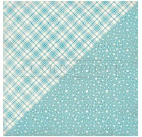 Papier double 30x30 'Authentique - Swaddle Boy' Five