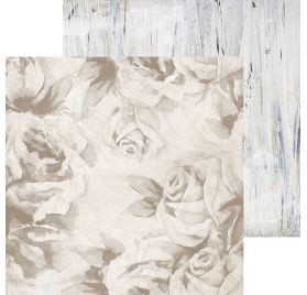 Papier double 30x30 'Kaisercraft - Whisper' Whitewashed