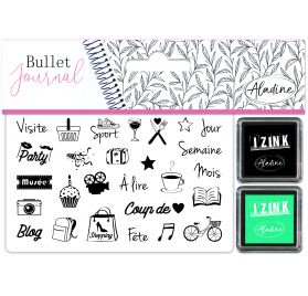 Kit Stampo 'Aladine' Bullet Journal Culture Loisirs