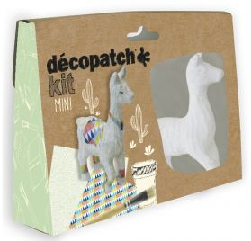 Mini Kit Lama 'Decopatch'
